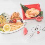 お子様弁当 (おにぎり) ¥1,200 ※巻物に変更することも可能です。
